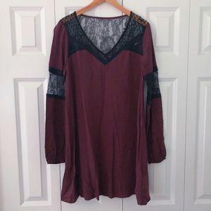 EXPRESS long sleeve dress women's size small